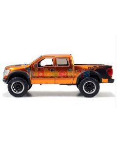 ماشین ماکت جادا فورد راپتور نارنجی