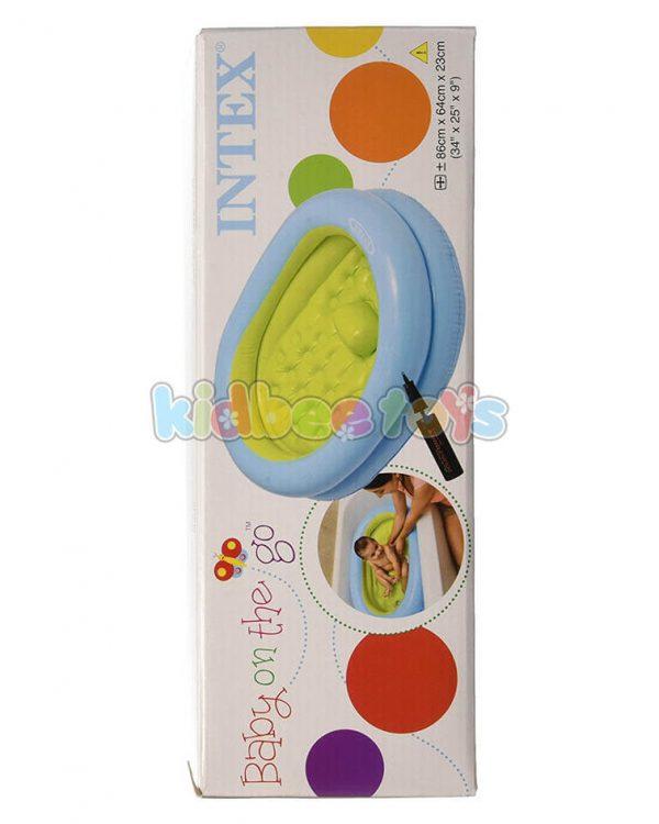 استخر بادی اینتکس کودک با پمپ هوا