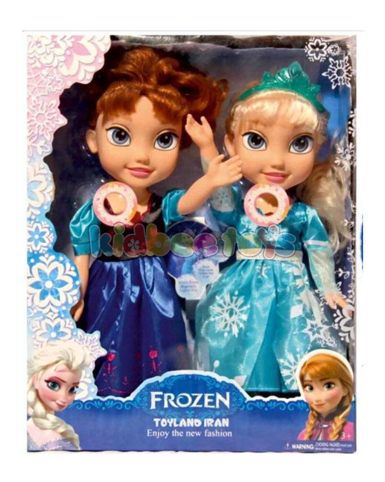 السا و آنا عروسک بازی
