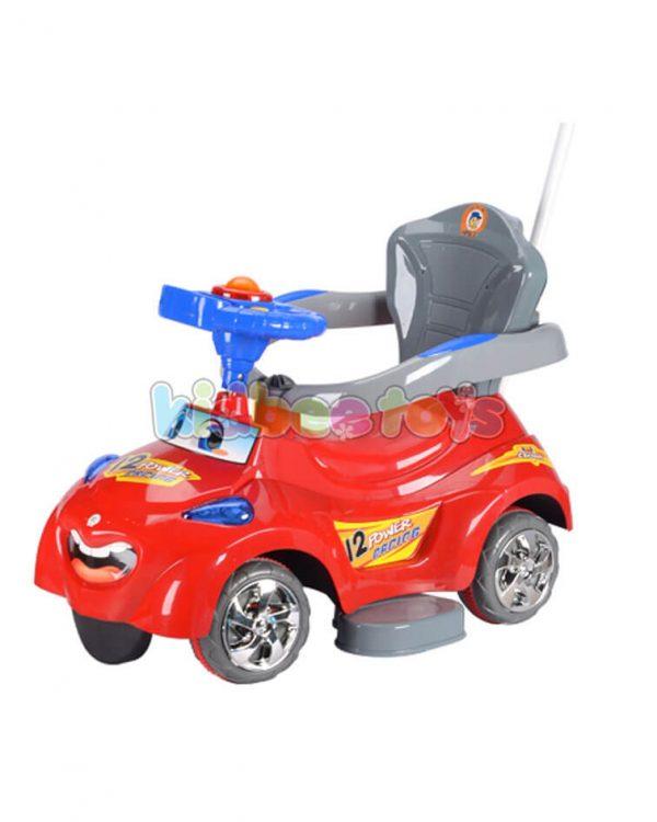 واکر ماشین کارتونی کودک قرمز