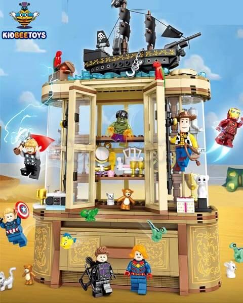 خرید اسباب بازی لگو مارول,عروسک دیزنی توی استوری,خرید اسباب بازی لگو مارول,