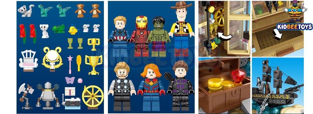 عروسک دیزنی توی استوری,خرید اسباب بازی لگو مارول,عروسک دیزنی توی استوری,