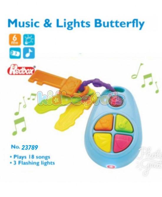 کلید دندونی موزیکال چراغدار ردباکس