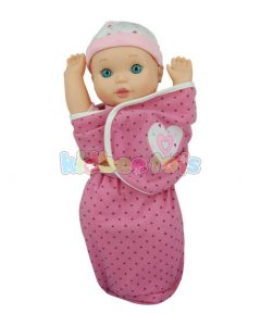 عروسک نوزاد قنداقی سنسوردار