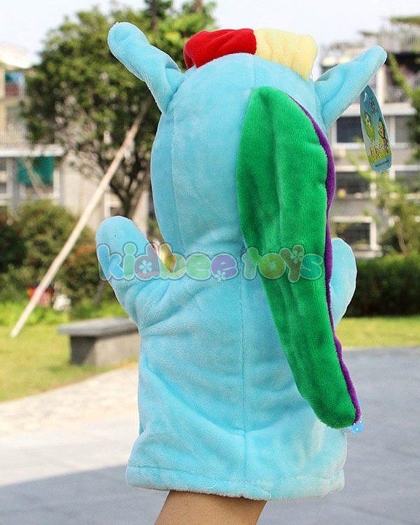 عروسک نمایشی پونی آبی
