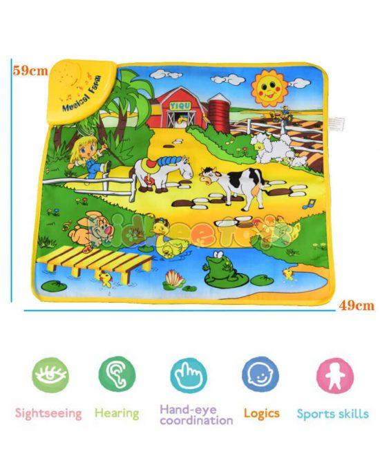 سفره بازی کودک آموزش حیوانات