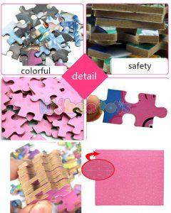 پازل چوبی با جعبه آهنی Puzzle 100 Blocks