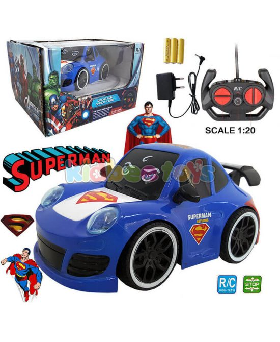 ماشین کنترلی قهرمانان سوپرمن