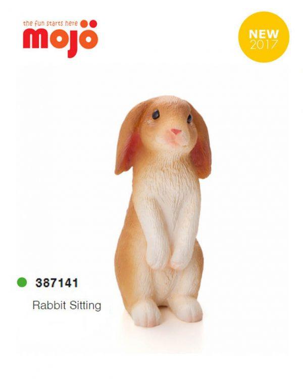 فیگور خرگوش نشسته موژو