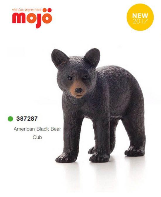 فیگور بچه خرس سیاه موژو