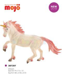 فیگور اسب شاخدار سفید موژو