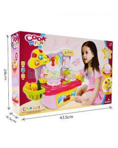 آشپزخانه کوچک کودک Cook Fun