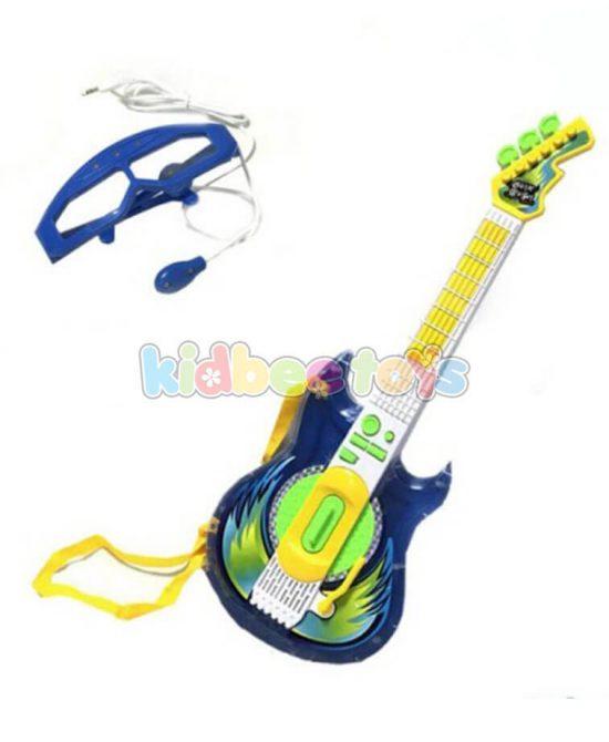 گیتار الکترونیکی پسرانه با میکروفن