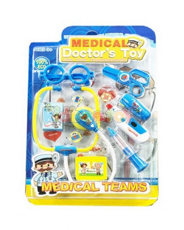 ست پزشکی کودک آبی