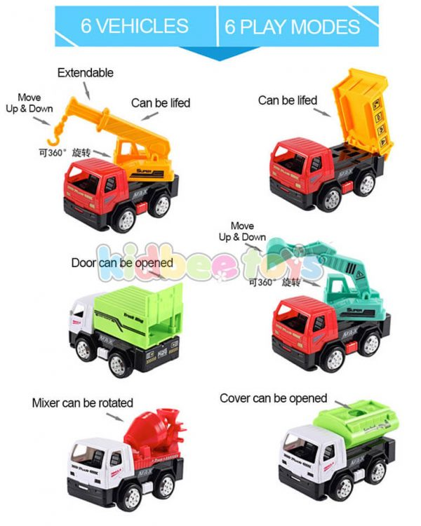 ست ماشین کامیون عقب کش