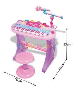 کنید پیانو ارگ کودک با میکروفن
