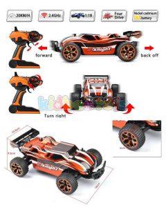 ماشین کنترلی آف رود نارنجی X-Knight