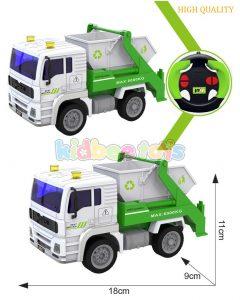 ماشین کنترلی جمع آوری زباله