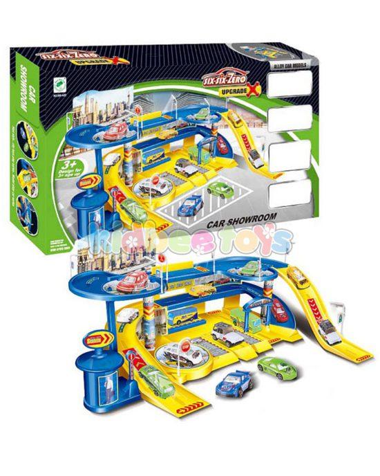 پارکینگ اسباب بازی نمایشگاه ماشین