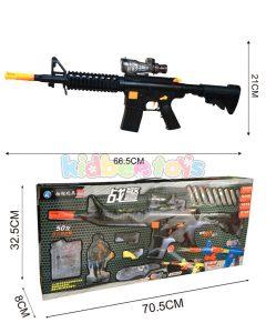 تفنگ بزرگ تیر فومی و ژله ای