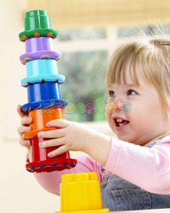 اسباب بازی برج رنگین کمان تولو