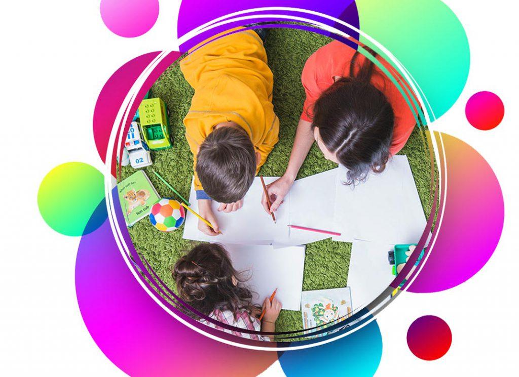 بازی هایی برای کاهش اضطراب کودکان